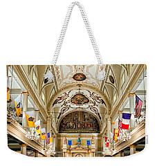 St. Louis Cathedral Weekender Tote Bag by Steve Harrington