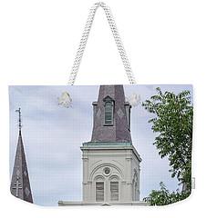 St. Louis Cathedral Through Trees Weekender Tote Bag