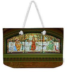 St Louis Union Station Allegorical Window Weekender Tote Bag by Greg Kluempers