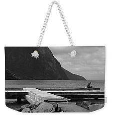 St Lucia Petite Piton 5 Weekender Tote Bag