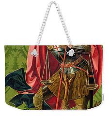 St. Michael Killing The Dragon  Weekender Tote Bag