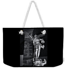 St. Michel Slaying The Dragon Weekender Tote Bag