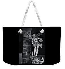 St. Michel Slaying The Dragon Weekender Tote Bag by Elf Evans