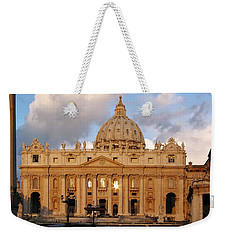 St. Peters Basilica Weekender Tote Bag