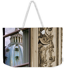 St Peter's Dome Reflected.rome Weekender Tote Bag
