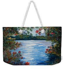 St. Regis Lake Weekender Tote Bag