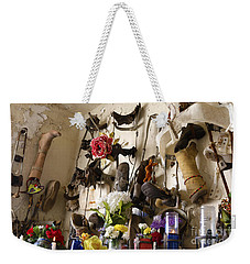 New Orleans St Roch Cemetery Weekender Tote Bag by Luana K Perez