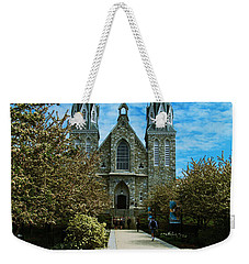 St Thomas Of Villanova Weekender Tote Bag