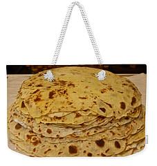 Stack Of Lefse Rounds Weekender Tote Bag