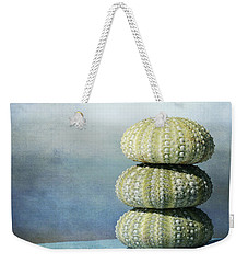 Stacked 3 Weekender Tote Bag by Fraida Gutovich