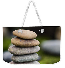 Stacked Stones B2 Weekender Tote Bag