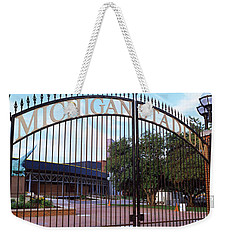 Stadium Of A University, Michigan Weekender Tote Bag