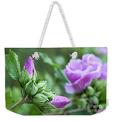 Stages Of A Rose Of Sharon Weekender Tote Bag