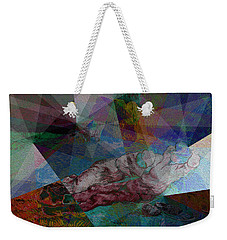 Stain Glass I Weekender Tote Bag by David Bridburg