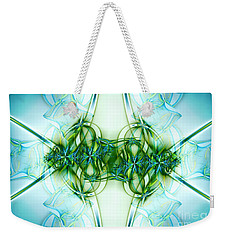 Stain Glass Weekender Tote Bag by Lena Auxier