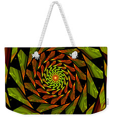 Stained Glass Art 01 Weekender Tote Bag