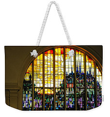 Stained Glass Luxembourg Weekender Tote Bag