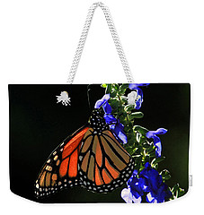 Stained Glass Wings Weekender Tote Bag by Donna Kennedy