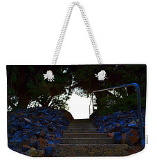 Weekender Tote Bag featuring the photograph Stair Way To Heaven  by Naomi Burgess
