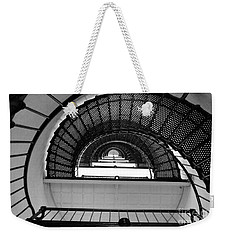 Weekender Tote Bag featuring the photograph Stairs by Andrea Anderegg