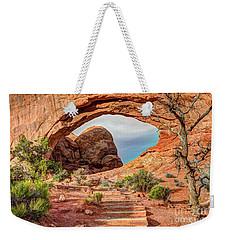 Stairway To Heaven - North Window Arch Weekender Tote Bag