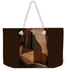 Stairway To Nowhere Weekender Tote Bag by Lois Bryan