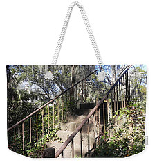 Weekender Tote Bag featuring the photograph Stairway To Nowhere by Patricia Greer