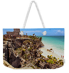 Stairway To The Tulum Beach  Weekender Tote Bag