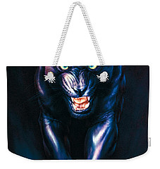 Stalking Panther Weekender Tote Bag by Andrew Farley