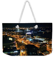 Stan Musial Bridge In St Louis Mo Dsc03215 Weekender Tote Bag