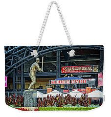 Stan Musial Statue At Busch Stadium St Louis Mo Weekender Tote Bag