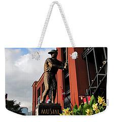 Stan Musial Statue Weekender Tote Bag