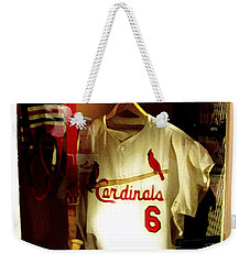 Stan The Man's Locker Stan Musial Weekender Tote Bag
