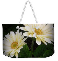 Stand By Me Gerber Daisy Weekender Tote Bag by Lingfai Leung