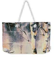 Stand Of Birch Weekender Tote Bag