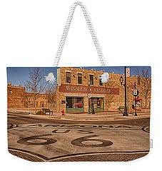 Standin' On The Corner Park Weekender Tote Bag by Priscilla Burgers