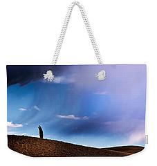Standing Against The Wind Weekender Tote Bag