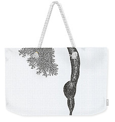 Standing Backward Bend Weekender Tote Bag