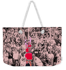 Weekender Tote Bag featuring the photograph Standing Out From The Rest Of The Crowd by Brian Reaves