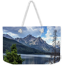 Stanley Lake View Weekender Tote Bag