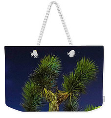 Star Gazing Weekender Tote Bag by Angela J Wright