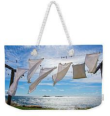 Star Island Clothesline Weekender Tote Bag