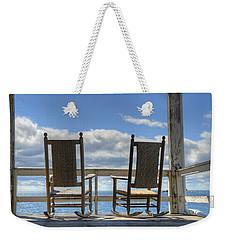 Star Island Rocking Chairs Weekender Tote Bag