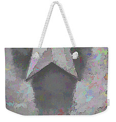 Weekender Tote Bag featuring the photograph Star by Kristi Swift