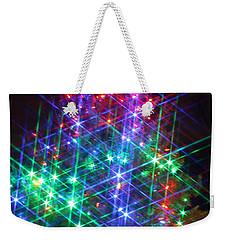 Star Like Christmas Lights Weekender Tote Bag by Patrice Zinck
