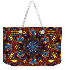 Star Of David Weekender Tote Bag by Lilia D