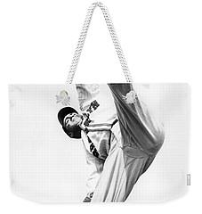 Star Pitcher Van Lingo Mungo Weekender Tote Bag by Underwood Archives