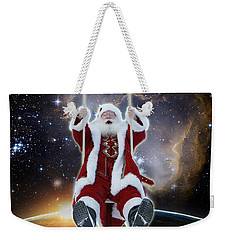 Santa's Star Swing Weekender Tote Bag