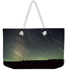 Star Trails Weekender Tote Bag