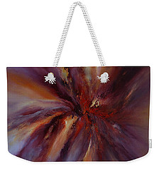 Starburst Weekender Tote Bag by Valerie Travers